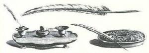 Plume pour calligraphie