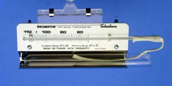 Thermomètre à bulbe humide