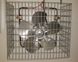 Ventilateur d'un incubateur