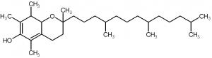 α-tocophérol ou vitamine E